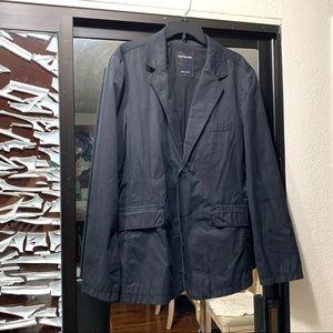 EUC Calvin Klein Black Stripes Blazer. Large